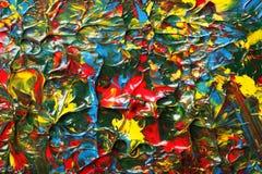 Pinte el fondo salpicado Imagen de archivo
