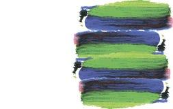 Pinte el marco del movimiento Imagen de archivo