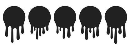 Pinte fluxos   Ilustração do vetor ilustração do vetor