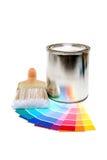 Pinte fontes Imagens de Stock