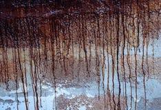 Pinte gotejamentos fotografia de stock