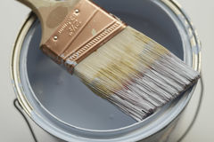 Pinte la casa Foto de archivo libre de regalías