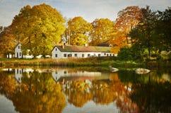 Pinte la casa. Texturice las imágenes conceptuales foto de archivo