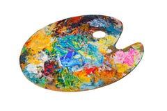 Pinte la gama de colores Imagenes de archivo