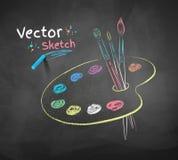 Pinte la gama de colores libre illustration