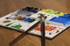 Pinte la gama de colores Fotografía de archivo libre de regalías