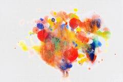 Pinte la marca Fotos de archivo libres de regalías