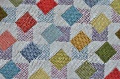 Pinte la materia textil coloreada texturizada fondo Foto de archivo libre de regalías
