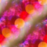 Pinte la naranja colorida del color del extracto de la textura del agua del modelo, purp Foto de archivo