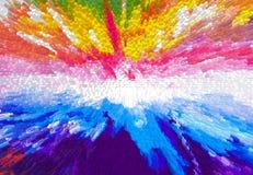 Pinte la textura Imagenes de archivo
