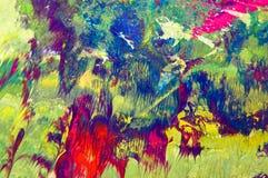 Pinte la textura Fotos de archivo libres de regalías