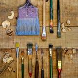 Pinte las herramientas Fotos de archivo libres de regalías