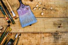 Pinte las herramientas Imagen de archivo