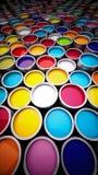 Pinte las latas Foto de archivo