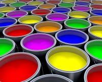 Pinte las latas libre illustration