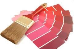 Pinte las muestras Imágenes de archivo libres de regalías