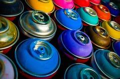 Pinte latas Foto de Stock