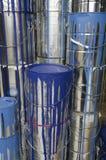Pinte latas e cores Imagens de Stock