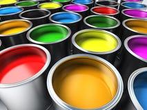 Pinte los compartimientos Fotografía de archivo libre de regalías