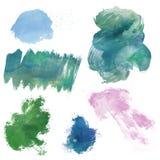 Pinte los elementos del diseño Fotografía de archivo libre de regalías