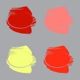 Pinte los movimientos y los marcos circulares libre illustration
