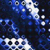 Pinte los puntos punteados coloridos Elemento del Grunge para el diseño moderno Arte emocional abstraiga el fondo Azul y blanco Imágenes de archivo libres de regalías