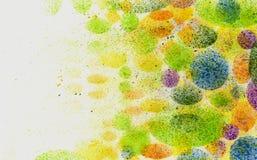 Pinte los remolinos Imagen de archivo