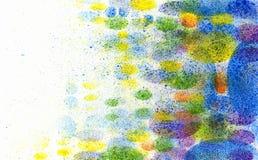 Pinte los remolinos Foto de archivo libre de regalías
