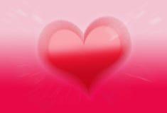 pinte o papel de parede do amor do Valentim do coração Fotografia de Stock Royalty Free