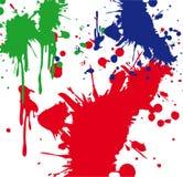 Pinte o Splatter Imagens de Stock