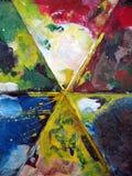 Pinte a paleta Imagens de Stock Royalty Free
