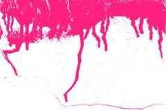 Pinte Ponceau abstracto Fotos de archivo libres de regalías