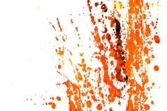 Pinte Spashes Imagens de Stock