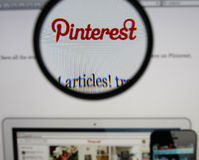 Pinterest 免版税库存图片