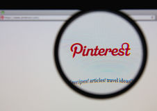 Pinterest 免版税库存照片
