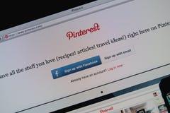 Pinterest Стоковое Изображение RF