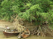 Pinterest boats Royalty Free Stock Images