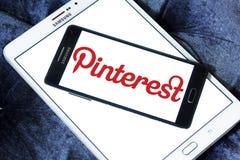 Pinterest logo Royalty Free Stock Photos