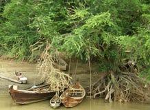 Pinterest łodzie Obrazy Royalty Free