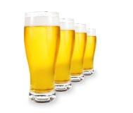 pintes de bière photographie stock