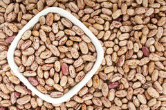 Pinto beans background Royalty Free Stock Image