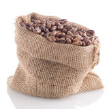 Pinto beans bag Royalty Free Stock Photo
