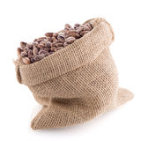 Pinto beans bag Royalty Free Stock Photography