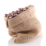 Pinto beans bag Stock Photo