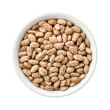 Pinto Beans in a Ceramic Bowl Royalty Free Stock Images