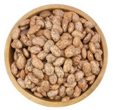 Pinto beans isolated on a white Stock Photography