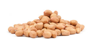Pinto beans  on a white Royalty Free Stock Photo