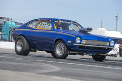 Pinto drag car Royalty Free Stock Image