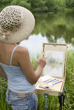 Pintor Fotografía de archivo