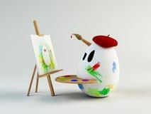 Pintor Imagen de archivo